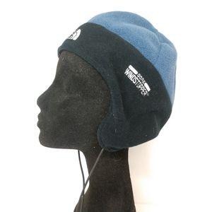 North Face Blue Gore Windstopper Fleece Hat Beanie